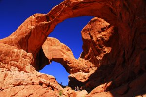 Arches National Park's Double Arch in Utah