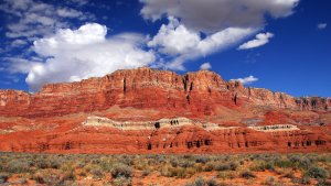 Arizona's Vermillion Cliffs--Part of my In Search of America Cross-Country Trip
