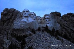 Dawn at Mt. Rushmore