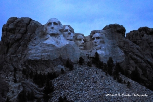 Dawn at Mt. Rushmore