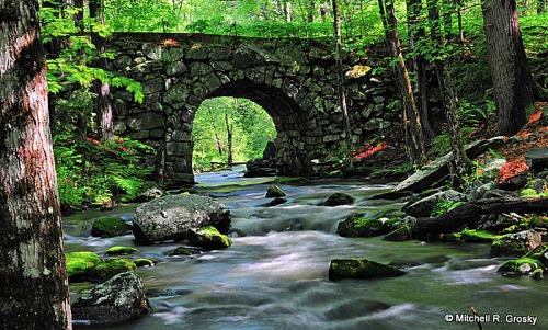 Keystone Bridge in New Salem, Massachusetts