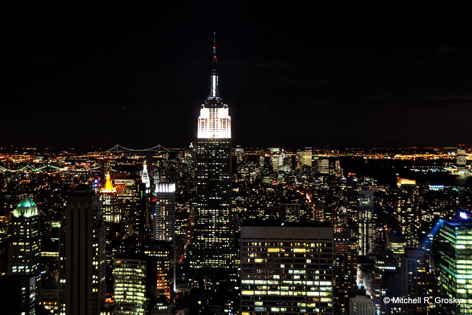 Modal Scarf - Empire State NYC by VIDA VIDA MBpGig